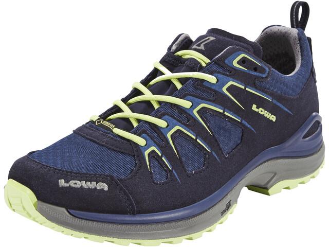 Lowa Innox Evo GTX Chaussures à tige basse Femme, navy/mint